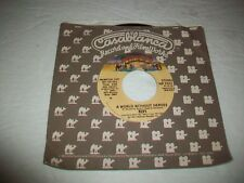 KISS - PROMO 45 - A WORLD WITHOUT HEROES - GLAM ROCK - HARD ROCK - CASABLANCA