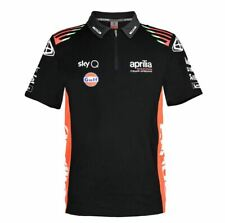 POLO SHIRT COTTON APRILIA TEAMWEAR REPLICA
