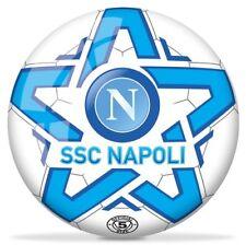 PALLONE FOOTBALL MONDO SSC NAPOLI ORIGINALE SPORT CALCIO CALCETTO SIZE 5