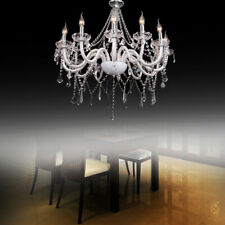 Modern Crystal Chandelier E12 12 Arms Luxurious Pendant Light Home Lamp Decor