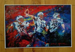 Tom Brady New England Patriots #12 Poster 17 X 11 Colorful Spatter Glossy