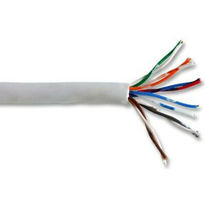 6 Pair Telephone Cable - White 100m