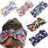 Infant Baby Kids Girl Flower Bow Hairband Turban Knot Rabbit Headband Headwear