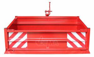 913691 Heckcontainer Transportbehälter 1500 S K I Neu Traktor