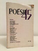 Poesía 45 Abril-Mayo N º 24 1945