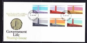 New Zealand 1981 Government Life Lighthouses First Day Cover