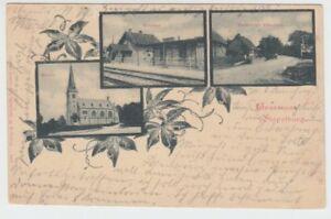 Ansichtskarte Sachsen - Anhalt  Stapelburg  Bahnhof  Harzburger Chaussee  1900
