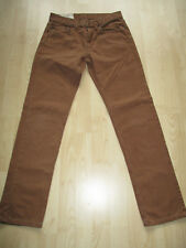 "ladies HOLLISTER CARAMEL COTTON JEANS SIZE 28"" WAIST - 30"" LEG"