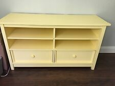 Country Yellow TV Stand