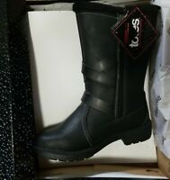 8M Totes Women's Diedre Black Women's Winter Boots SIZES NIB NEW