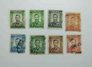 SOUTHERN RHODESIA 1937 DEFINITIVES USED bn123