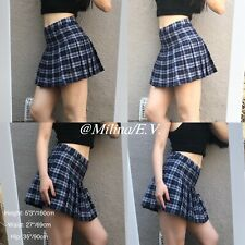 MilinaEV| Women's Clothing·Plaid Mini Skirt| Size M| Cosplay·Schoolgirl·Uniform