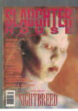 Slaughterhouse Magazine Vol 1 No 4 Nightbreed Batman Nightmare on Elm Like New