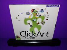 ClickArt 40,000 PC CD ROM Windows 3.1/95 B458