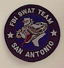 FBI Federal Bureau of Investigation SWAT San Antonio Division Patch