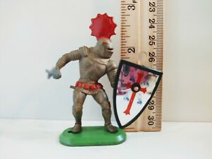 Britains Red Helmet Knight 1987 Vintage