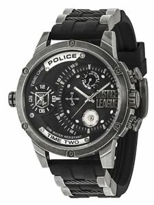 Police Justice League Limited Edition Numbered Men's Quartz Watch 14536JQ/02P