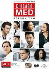 Chicago Med : Season 2 (DVD, 6-Disc Set) NEW