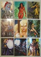 2014 SDCC Women of Dynamite Premium Card Set of 18 Free Shipping!