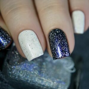 Cadillacquer Blue Fire Effect Top Coat Indie Nail Polish Nail Lacquer