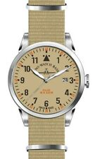 Zeno-Watch Basel Swiss Made Pilot Navigator Nato Quartz sand nylon saphirglas