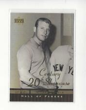 2001 Upper Deck Hall of Famers 20th Century Showcase #S5 Mickey Mantle Yankees