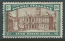 1924 REGNO ANNO SANTO 20 CENT MNH ** - G199-2