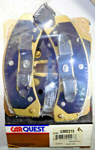 NEW CARQUEST GMD215 FRONT PREMIUM PLUS DISC BRAKE PAD SET, 4 Pads, Made in USA