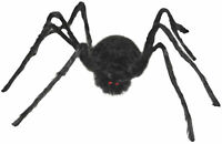 "Large 36"" Furry Poseable Spider Tarantula Scary Halloween Decor Decoration Prop"