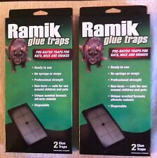 Ramik large glue traps rat mice snake trap 2per box mouse rats snakes gluetrap