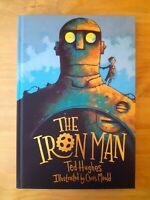 SIGNED 1ST EDITION of THE IRON MAN. TED HUGHES & CHRIS MOULD. FIRST PRINTING.