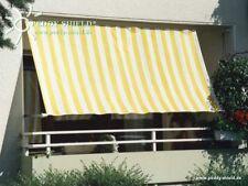 Bausatz Sonnensegel in Seilspanntechnik Balkon Loggia 2 x 7 m Edelstahlseil