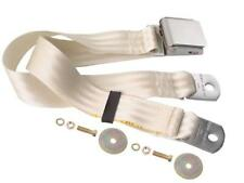 1967-74 Camaro, 64-72 GTO Seat Belt w/ Lift Buckle Latch 60-Inch White Dii