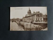 IRELAND: THE CUSTOM HOUSE, DUBLIN - PRINTED - UNPOSTED