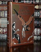 Divine Comedy by Dante Alighieri Illustrated New Leather Bound Deluxe