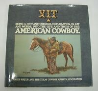 XIT The American Cowboy Hard Cover Book by Pirtle TCA Limited Signed Numbered