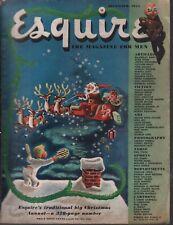 Esquire Magazine December 1945 Alan Hynd Douglas Ainslie Varga 031920AME