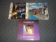 2 Prince LPs Purple Rain & Around the world in a Day+ I would die for you single
