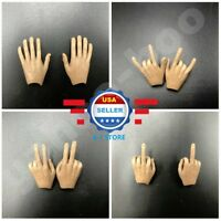 1/6 scale Flexible Hands for 12'' Male Figure Body COO ZC TOYS Hot Toys Phicen