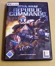 PC GAME GIOCO-STAR WARS-REPUBLIC COMMANDO-tedesco completamente LucasArts