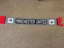RARE Original circa 1980`s Manchester United Football Scarf