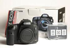 Canon EOS 7D Mark II 20.2MP Digital SLR Camera - Black (Body Only)