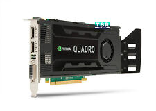 HP NVIDIA Quadro K4000 Graphics card GPU 3GB GDDR5 PCIe x16 2.0 x16 Video card