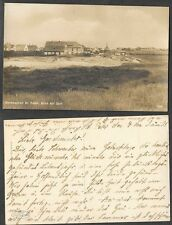 Old Germany Real Photo Postcard - Nordseebad - St. Peter, Blick auf Dorf