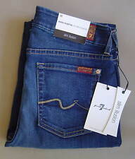 NWT 7 FOR ALL MANKIND Sz 28 SLIM ILLUSION KIMMIE STRAIGHT Geneva Blue AU0231571A