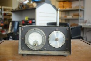 WWII Military Surplus Antenna Tuner - Western Electric - With Antenna Extension