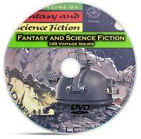 Fantasy & Science Fiction, 149 Classic Pulp Magazine, Golden Age SCI FI DVD C65