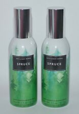 2 BATH & BODY WORKS SPRUCE CONCENTRATED ROOM SPRAY PERFUME MIST AIR FRESHENER