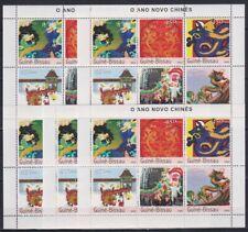 R813. 5x Guinea-Bissau - MNH - Art - Chinese - 2003