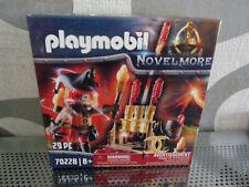 Playmobil Novelmore 70228 Burnham Raiders Feuerwekskanonen + Feuerm. - Neu & OVP